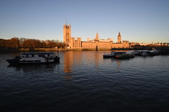 Early Morning Sun on the River Thames - 2 (rq uk) Tags: rquk nikon d750 london riverthames river earlymorningsun lowtide nikond750 afsnikkor1835mmf3545ged westminster