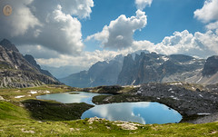 Drei Zinnen-Seen... (A.K_Photography Hamburg) Tags: italien lake mountains nature landscape dolomiten trecimedilavaredo nikond810 afsnikkor24mm114ged naturparkdreizinnen unescoweltnaturerbedolomiten dreizinnenseen