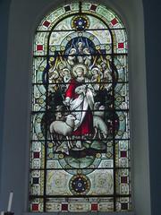 Good Shepherd Window, Honington (Aidan McRae Thomson) Tags: church window victorian stainedglass warwickshire hardman honington