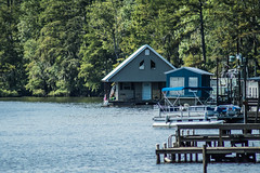 Hubbard Landing (Gatorbait Photography) Tags: water architecture docks landscape boat outdoor