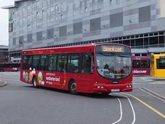 trent barton 607 Derby (Guy Arab UF) Tags: bus buses station solar derbyshire trent barton wright derby scania 607 l94ub wellglade wellgladegroup fj03vvu