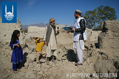Islamic Relief team travelled to Nangarhar, east of Kabul, to assess needs of the communities there following the earthquake on Oct. 26, 2015.