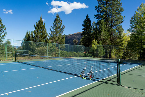 Triple Creek Ranch Tennis Court
