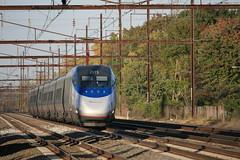 Amtrak Acela (Mark Vogel) Tags: railroad train railway amtrak nec acela northeastcorridor chemindefer