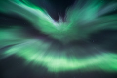 Auora September 2015 (Marcus Nordenstrm) Tags: sky storm night canon lights sweden september corona aurora g2 northern jmtland borealis norrland norrsken 2015 geomagnetic 600d ragunda kp6 polarsken