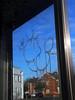 10Foot (Alex Ellison) Tags: urban graffiti boobs tag damage graff telephonebox phonebox northwestlondon etchbath glassetch 10foot