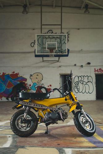 Minibike Basketball