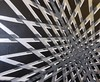 BWSS Abyss (Lancelot Tual) Tags: bw abstract art geometric lines silver blackwhite modernart canvas chrome scratching abyss perspectiv