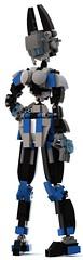 eve 13 (pb0012) Tags: eve blue brick robot lego fembot android mecha mech robo moc ldd mechanoid pb01