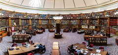 Study Time (_Hadock_) Tags: library panorama panoramic pano liverpool central biblioteca best mejor bibliotecas del mundo world big books read study silent light hall architecture arquitectura creative commons comons full hd high resolution students university nikon d750 tamron 2470 f28