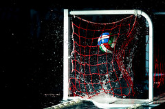 Because the Night (Matteo Pucci) Tags: black sfondonero gol italy italia waterexplosion gocce drops goal tiro camera42 winner shot sport sportphotography waterpolo pallanuoto ball fin fina arena night nikon d750 water waterinstinct