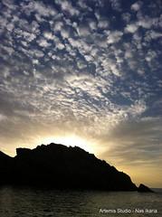 Clouds (Artemis Studio - Nas Ikaria) Tags:   ikaria nas beach october