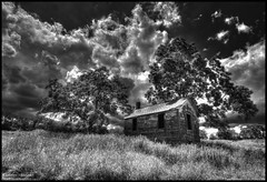 Long Abandoned Farmhouse Again (CallihanImages) Tags: efs1018mm f4556 is stm efs1018mmf4556isstm canoneos70d canon70d canon 70d 10mm wide angle black white bw blackandwhite
