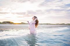 annalee (BelliniPortraits) Tags: maternity expecting portrait water ocean waves sunset hair beautiful motherhood belliniportraits bostonmaternityphotographer