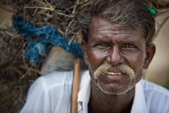 Inde: portrait  Chandelao (Rajasthan). (claude gourlay) Tags: inde india asie asia indedunord northindia claudegourlay portrait retrato ritratti people face man homme chandelao rajasthan