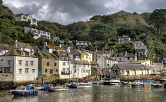 Polperro harbour, Cornwall (Baz Richardson (trying to catch up)) Tags: cornwall polperro cornishharbours smallboats yachts fishingboats