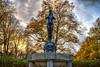 Willem Schürmann statue (R. Engelsman) Tags: willem statue bronze beeld brons parklaan scheepvaartkwartier rotterdam 010 netherlands nederland nl schürmann hdr rotjeknor