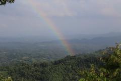 Rainbow (Kaniz Khan 2009) Tags: rainbow sky mountain hilly chittagonghilltracts bangladesh bandarban nilachol