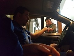 October 09, 2016 (29) (gaymay) Tags: california desert gay love cathedralcity riversidecounty coachellavalley carlsjr eating drivethru