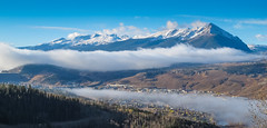 Silverthorne, Fog, and the Tenmile Range (mharoldsewell) Tags: 2016 canon colorado g12 october powershot silverthorne summitcounty tenmilerange fog mharoldsewell mikesewell photos