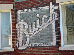 Buick Ghost Sign, Herkimer, NY (Robby Virus) Tags: herkimer newyork ny upstate state buick cars automobiles autos valve motor ghost sign signage ad advertisement faded brick wall