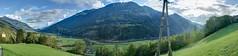 Blick ins Tal von Schloss Groppenstein