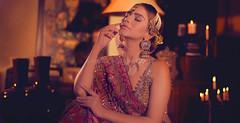 Regal Bride (| Haroon |) Tags: bride fashion fashionshoot indoor royal model fashionmodel odc warm portrait portraiture twofer hinaashfaque