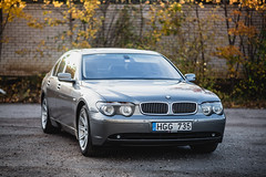 BWM 735i (shnipiz) Tags: bmw 735i car lithuania evening colours