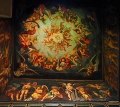 PA1008322 (simonrwilkinson) Tags: bolsovercastle bolsover castle derbyshire englishheritage littlecastle heavencloset painting cherubs love heavenly