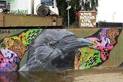 graffiti amsterdam (wojofoto) Tags: amsterdam graffiti streetart nederland netherland holland wojofoto wolfgangjosten ndsm furious rave