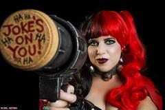 HA HA! Jokes On You!!! (Ring of Fire Hot Sauce 1) Tags: cosplay harleyquinn meganjolliff longbeachcomiccon lbccportrait