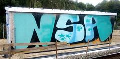 graffiti amsterdam (wojofoto) Tags: amsterdam graffiti nederland holland netherland wojofoto wolfgangjosten trackside railway spoorweg nsa