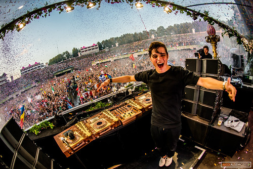 Martin Garrix @ Tomorrowland 2015