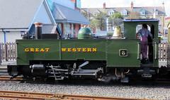 65 | Aberystwyth station  Vale of Rheidol loco (Mark & Naomi Iliff) Tags: aberystwyth valeofrheidolrailway rheilfforddcwmrheidol railway steam narrowgauge loco locomotive no8 8 llywelyn