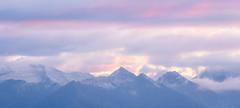 Mountains Of Peace (christinanigsch) Tags: schnee berge bergmassiv sonnenuntergang nebel licht nikon nikkor landscape mountains sun light shadow sky clouds sunset suisse schweiz switzerland stgallen snow ostschweiz