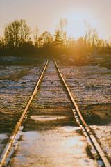 Railway #333/365 (A. Aleksandraviius) Tags: sunny panevys lithuania perspective sunset lietuva nikon nikkor 85mm 85 365 3652016 d810 nikond810 85mmf14g nikkor85mm nikon85mm14g f14g nikon85mm project365 333365