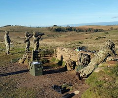 ranges a coy 3 (6 SCOTS Reserve) Tags: royal regiment scotland british army infantry galashiels edinburgh dumfries training weapons grenades soldiers reserve