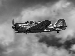 Spartan Executive - Old Warden (davepickettphotographer) Tags: davepickettphotographer uk shuttleworthcollection theshuttleworthcollectionuk gb bedfordshire biggleswade vintage aviation airshow old aircraft park oldwarden trust monotone nik software transport spartan executive