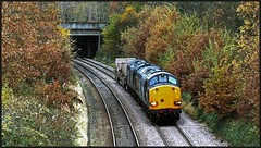 Gypsy Corner -  2nd (peterdouglas1) Tags: directrailservices class37 valleyflasks talybont 6k41 37059 37610 nuclearflasks