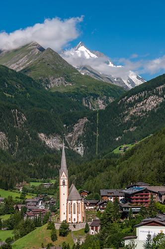 150726-7825-Alpy-Grossglockner widziany z Heiligenblut