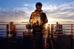 ©2016 Nicola Nigri (Lifeinpicture) Tags: umbria italy reflection lake sunset selfportrait clouds sun colors sky children me nikkor nikond750 d750 trasimeno