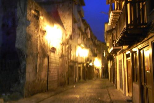 20090824 002 1204 Jakobus Laredo Gasse Nachts