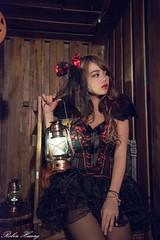 DSC_7481 (Robin Huang 35) Tags: 孫卉彤 candy miruna萬聖風 小惡魔 吸血鬼 vampire 萬聖節 halloween 棚拍 lady girl d810 nikon devil