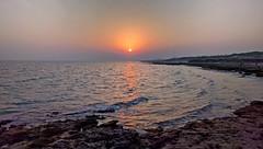 Sunset At Zeytoon Beach - Qeshm Island (daniyal62) Tags: lg nexus 5x mobile landscape sunset qeshm island sea