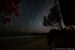 SCP Star Trail @ Diggers Beach, Coffs Harbour (myshutterworld) Tags: coffs harbour diggers beach star trail scp nightscape astrophotography
