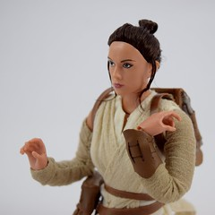 Star Wars Elite Series Rey Premium Action Figure - Disney Store Purchase - Deboxed - Sitting Down - Midrange Right Front View (drj1828) Tags: starwars theforceawakens rey figure actionfigure purchase disneystore eliteseries premium posable 10inch deboxed sitting