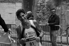 Giorgio (Rafael Peñaloza) Tags: trento trentohalfmarathon italia italy sport runner giorgio running byn bw blackandwhite person man people face effort