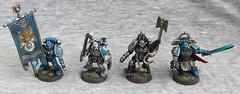 Command Squad (oxazejam) Tags: gamesworkshop ultramarines warhammer40000 40k spacemarines command squad