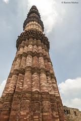 DSC5608 Qutub Minar, ao 1199, Delhi (Ramn Muoz - ARTE) Tags: delhi india qutub minar
