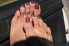 Dea (IPMT) Tags: toenail sexy toes polish foot feet pedicure painted toenails pedi zoya barefoot barefeet descalza warm milky light brown nude creme natural cafe